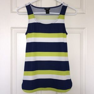 Ann Taylor Striped Tank